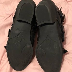 Sam & Libby Shoes - Sam & Libby Buckle Boots Size 7